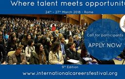 Rome International Careers Festival 2018