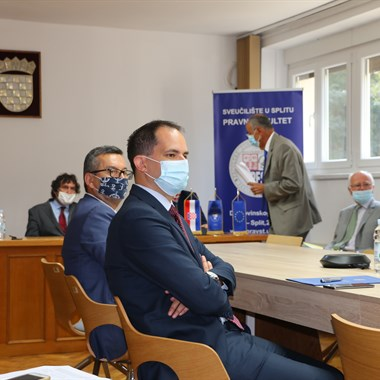 Opening ceremony of the 14th Croatian-French Days of Administrative Law