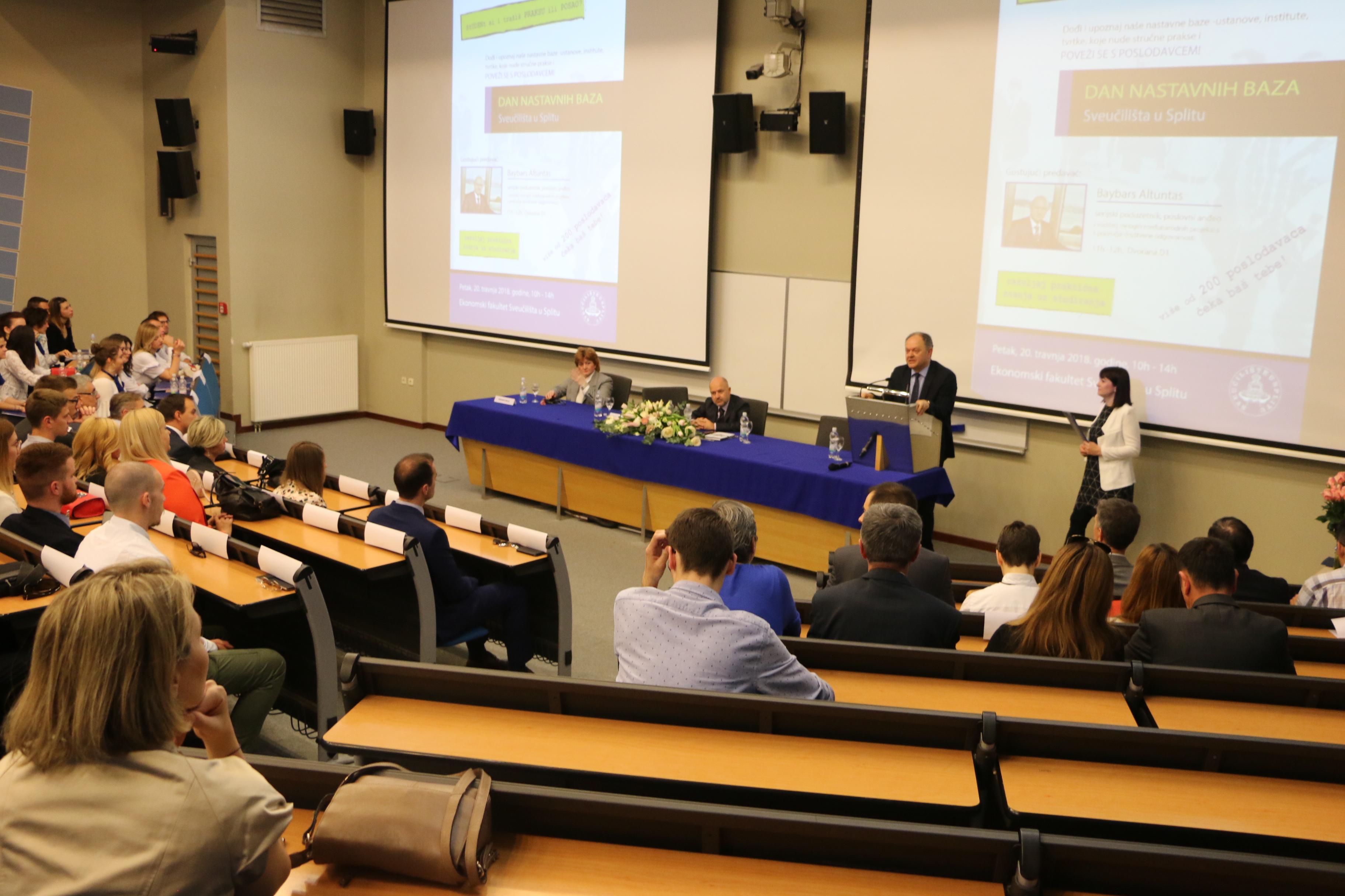 Knauf d.o.o. za sve studente zainteresirane za poduzetništvo.